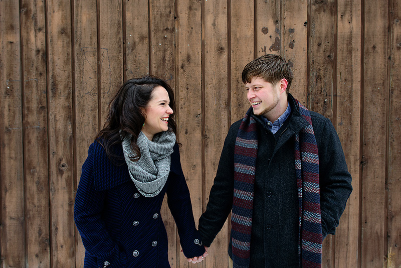 Fun engagement photos in Lawrence, Kansas.