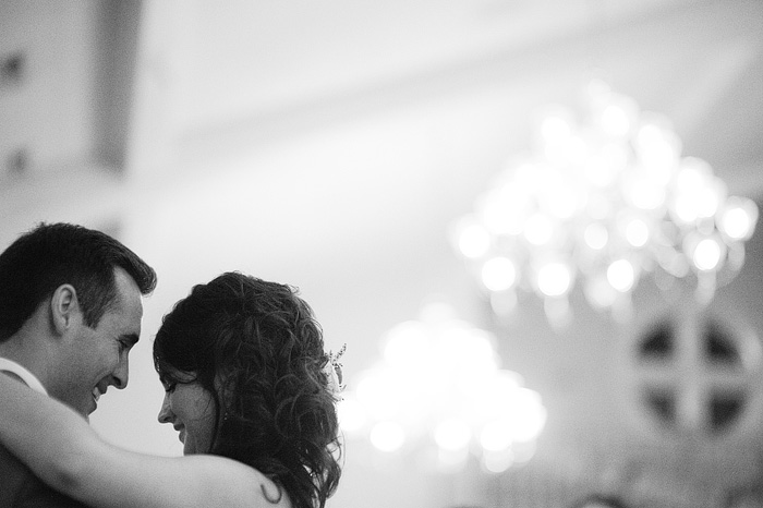 sweet first dance at the hawthorne house in parkville, mo.