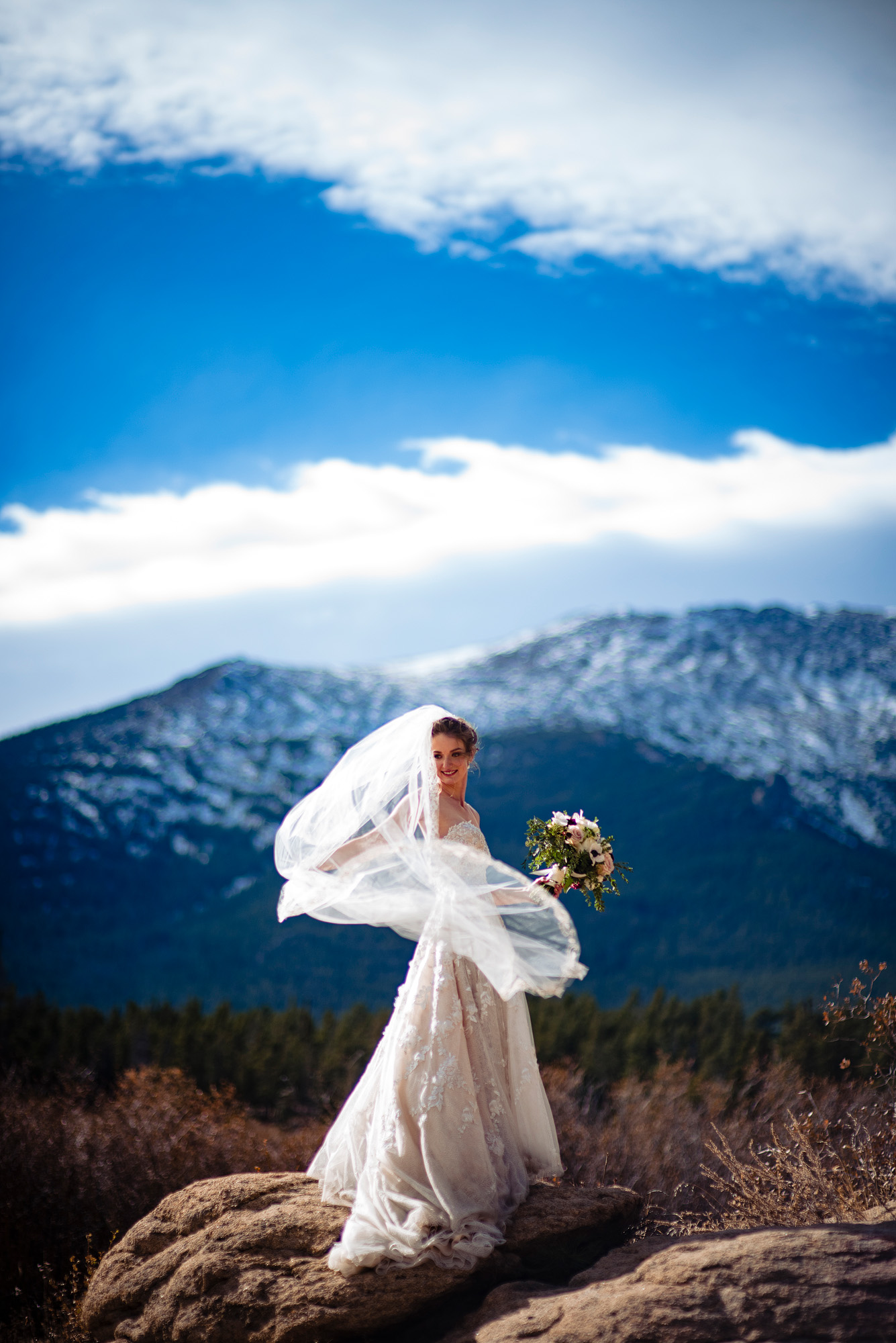 estes park wedding photography